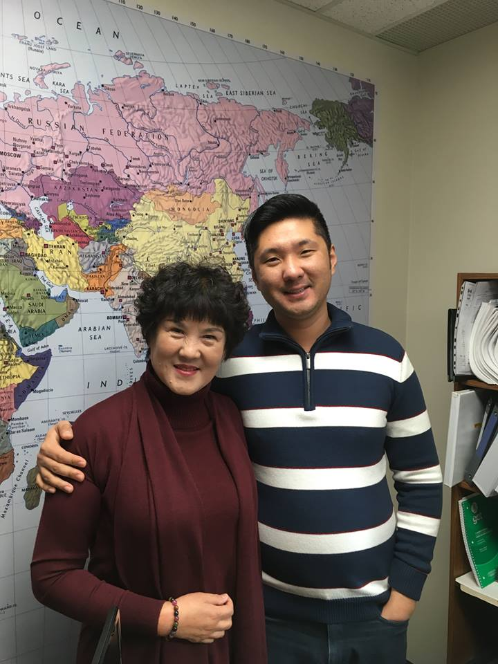 Reuniting Son and Mom from Hong Kong! Welcome to Canada Mrs. Wang. It was so good to meet you.